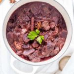 Purple Potato And Beef Curry {GF}