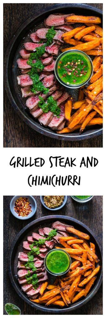 Grilled steak-chimichurri-recipe | Recipes From A Pantry