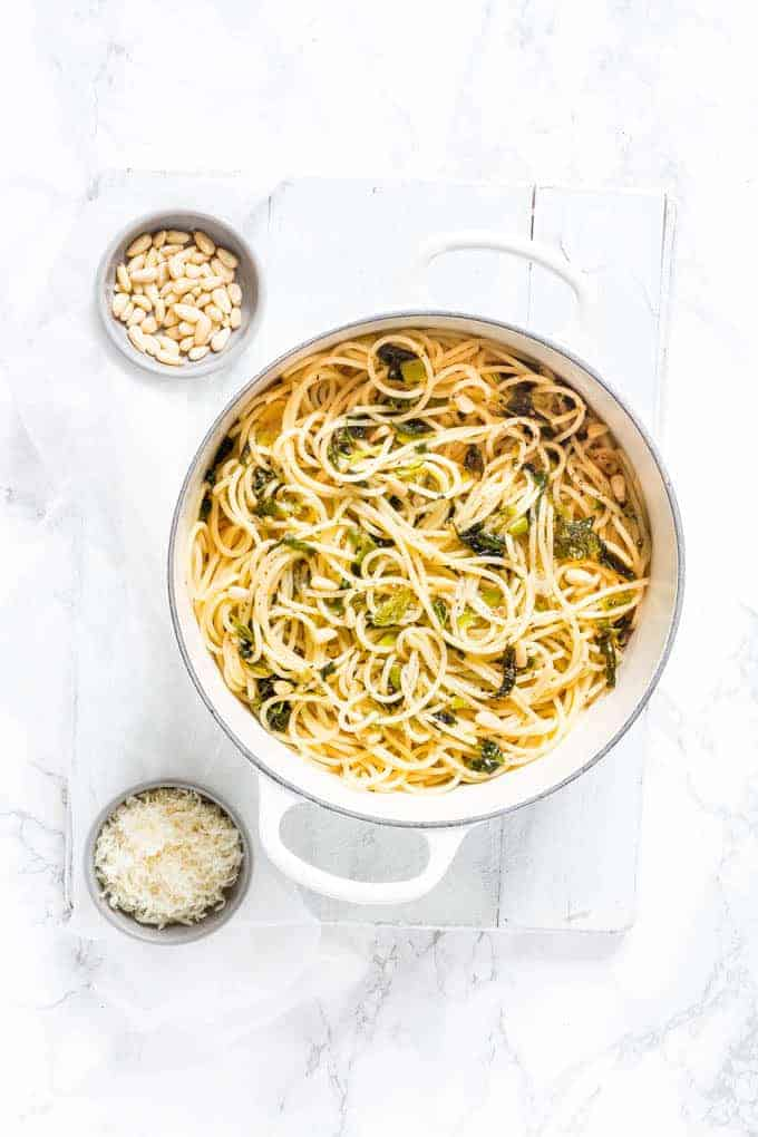 15 Min Garlic And Herb Butter Pasta Recipes From A Pantry
