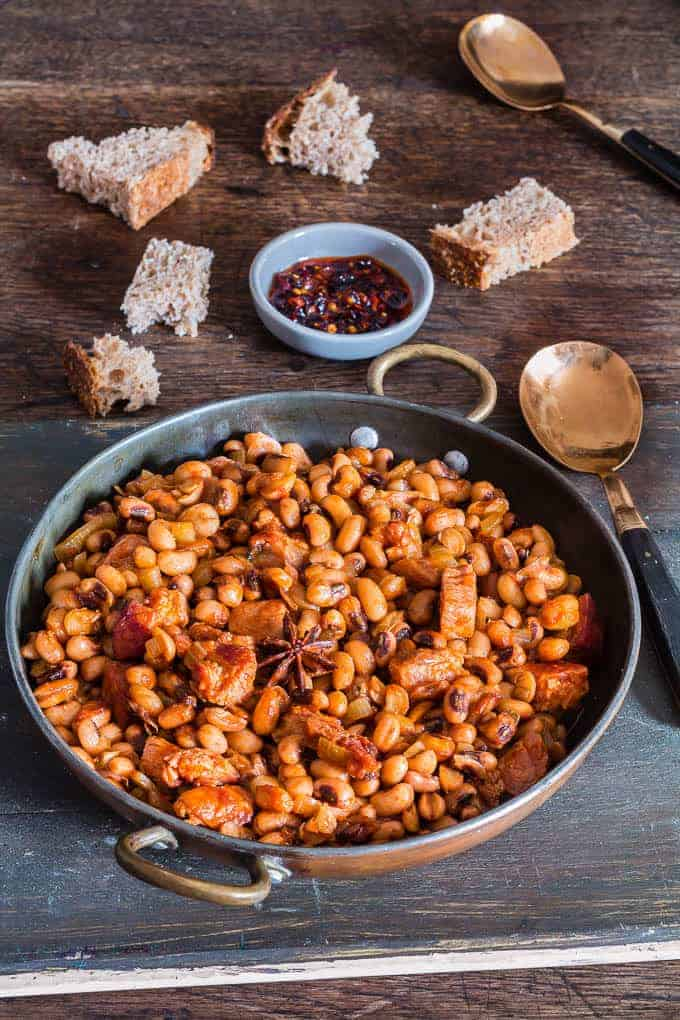 gammon star anise baked beans 2 | Recipes From A Pantry