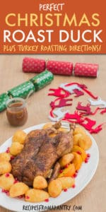 CHRISTMAS ROAST DUCK