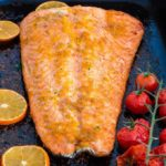 Orange and Cardamom Baked Salmon