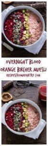 Overnight Blood Orange Bircher Muesli | Recipes From A Pantry