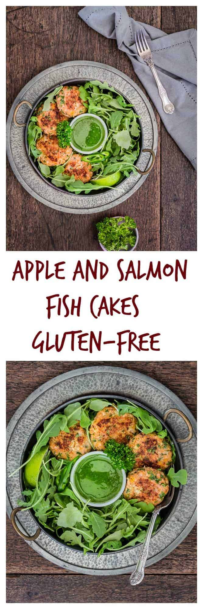 Apple and Salmon Fish Cakes {Gluten-free}   Recipes From A Pantry
