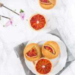Vegan Olive Oil And Blood Orange Muffins