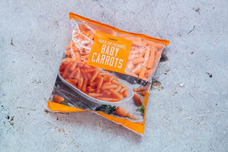 iceland foods carrots part of sweet potato soup recipe