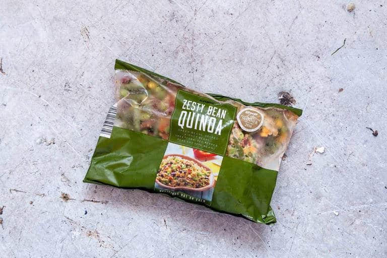 iceland foods three bean quinoa healthy meal plan
