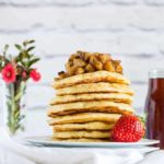 Beghrir – Moroccan Semolina Pancakes with Maple  Nutmeg Roasted Plantains –  {Vegan}