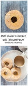 Baked Orange Doughnuts With Cinnamon Sugar   Recipes From A Pantry