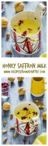 Honey Saffron Milk Recipes From A Pantry