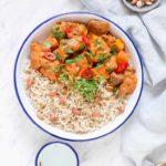 Slow Cooker African Peanut Stew {Gluten-free}