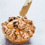 These banana granola muffins are the perfect breakfast food. The granola streusel crumble topping really makes this recipe. | Recipes From A Pantry