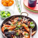 Mussels and King Prawn Rougaille {Gluten-Free, Paleo, Whole 30}