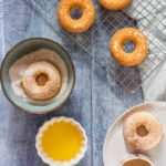 Baked Orange Doughnuts With Cinnamon Sugar