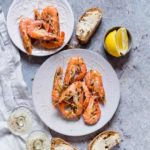Quick Garlic Butter Shrimps {Keto, Gluten-free}