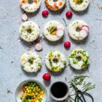 Vegetable Loaded Sushi Doughnuts
