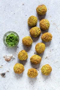 Easy Falafel Recipe With Wild Garlic {Vegan, Gluten-Free}