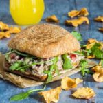 This spicy sardine sandwich make a great breakfast or brunch idea. African recipe. Recipesfromapantry.com