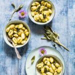 Sage And Brown Butter Sauce Gnocchi With Herbs (Gluten-free)