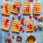 Almond Lemon Waffles #WhichTyphooAreYou