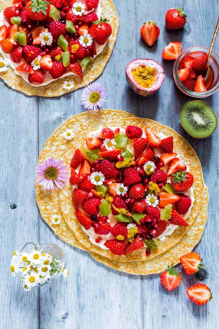 Fruit Pancake Pizza Recipes From A Pantry