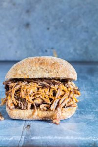Ginger Beer Pulled Pork –  {Gluten-free}