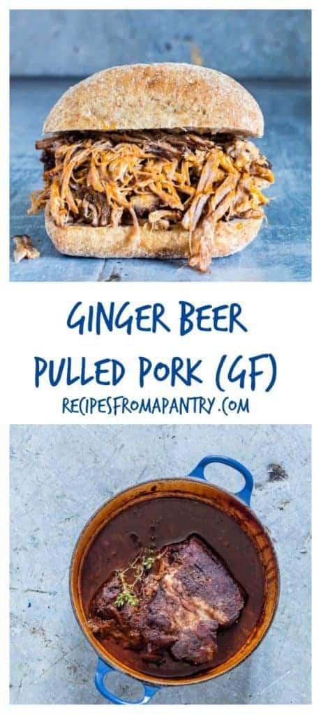 GINGER BEER PULLED PORK