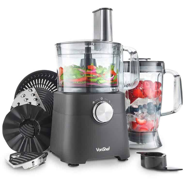 VonShef 100w Food Processor review - recipesfromapantry.com