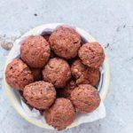 Baked Beetroot Falafel {Vegan, Gluten-free}