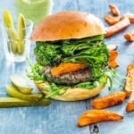 Herb Loaded Beef Burgers {Gluten-free}
