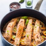 Lime Coconut Salmon and Sweet Potato Bake {Recipe Video}
