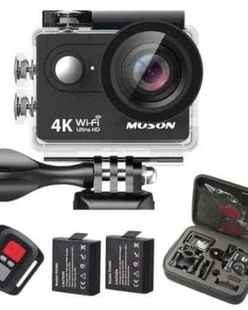 Muson 4K Sport Action Camera Giveaway - recipesfromapantry.com