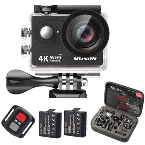 Muson 4K Sport Action Camera Giveaway - recipesfromapantry.com