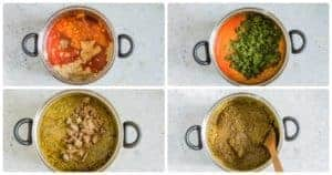 How to cook cassava leaves sauce step by step no 2. West African recipe. Best served with some steaming white rice. recipesfromapantry.com #cassavaleaves #sakasaka #palavasauce #africanrecipe #cassavaleaf