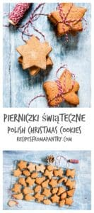 An easy Pierniczki świąteczne (aka polish Christmas cookie) recipe. It is an instant favourite of mine and will be yours too. Recipesfromapantry.com #Pierniczkiświąteczne #christmascookies #polishchristmascookies
