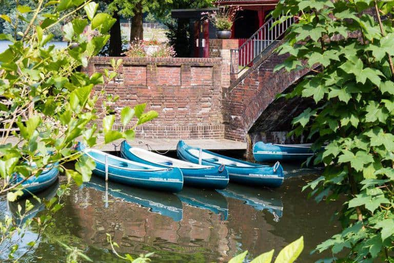 Canoe Stadtpark Hamburg - City break guide to Hamburg packed full with top things to do in Hamburg, where to eat in Hamburg and why visit this habour town. recipesfromapantry.com #hamburg #thingstodoinhamburg #hamburgporttour
