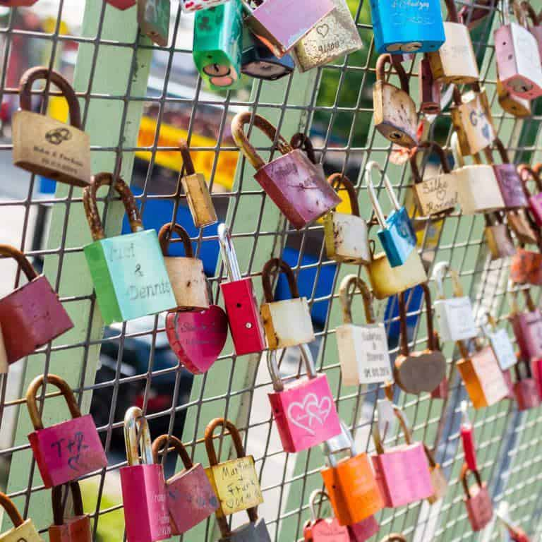 Padlocks A City break guide to Hamburg packed full with top things to do in Hamburg, where to eat in Hamburg and why visit this habour town. recipesfromapantry.com #hamburg #thingstodoinhamburg