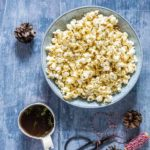 3 Ingredient Healthy Herb Popcorn {Vegan}