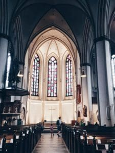 St Peters church -A City break guide to Hamburg packed full with top things to do in Hamburg, where to eat in Hamburg and why visit this habour town. recipesfromapantry.com #hamburg #thingstodoinhamburg