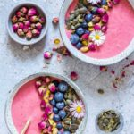 Strawberry Blueberry Smoothie Bowl {Gluten-Free}