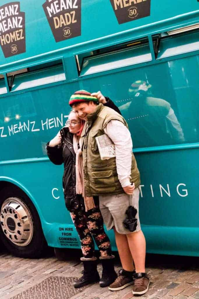 Heinz Beanz Fan by bus - recipesfromapantry.com