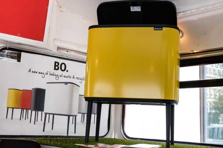 Brabantia Yellow Bo Touch Bin Review - recipesfromapantry.com