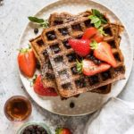 Chocolate Chip Sweet Potato Waffles