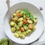 7 ingredient Coconut Vegan Pesto {Gluten Free}