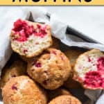 air fryer raspberry muffins
