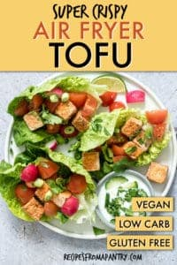SUPER CRISPY AIR FRYER TOFU