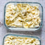 DILL PICKLE PASTA SALAD MEAL PREP