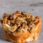 Easy Cinnamon Streusel Brioche Muffins {GF}