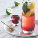 Hibiscus Whisky Sour {And a Party with Iceland Luxury Food & Platters}