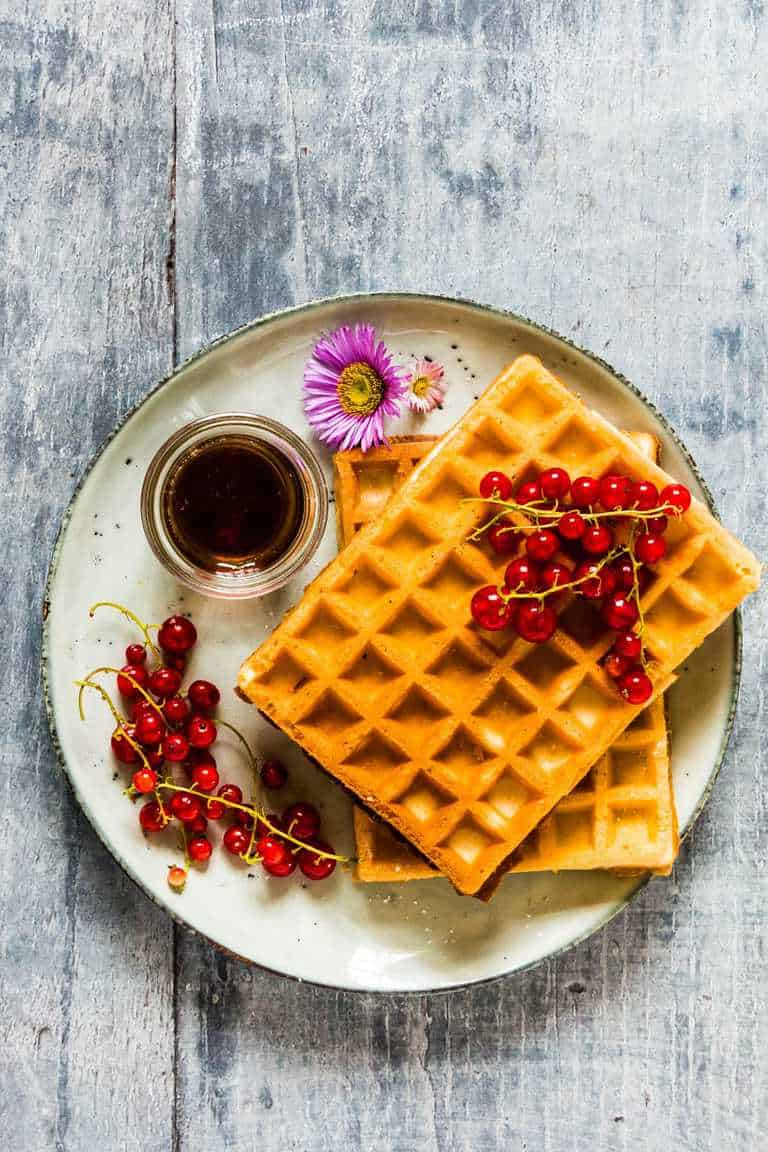 Honey Waffles Recipes From A Pantry